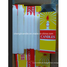 Wholesale White Stick Religious Candles