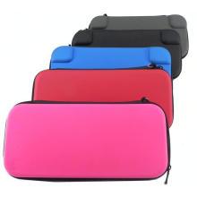Hard Shell Travel Switch Estojo de transporte com 8 cartuchos de jogo para Nintendo Switch Bag Bolsa de armazenamento protetor Black Grey
