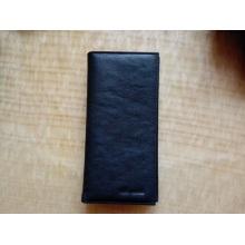 Guangzhou Lieferanten modische echtes Leder Passport Card Bag Wallet für Herren (Z-122)