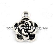 Цветок формы ювелирные изделия сплава ожерелье
