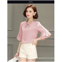 Fashion Chiffon Women Blouse with Special Sleeve