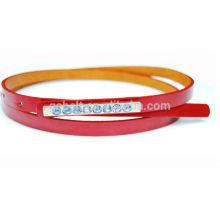 Woman decorative fashion PU belt for ladies garments