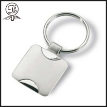 Personalised custom blank logo metal keyrings