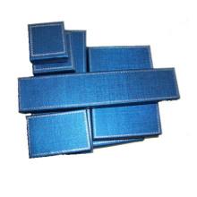 Fabricante de caixas de papel de jóias azul escuro (série BX-BP-S)