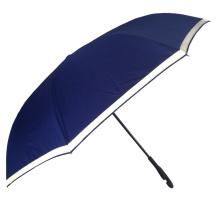 Cubierta de tubería reflectante de seguridad para exteriores Paraguas de coche inverso con impresiones de logotipos