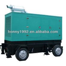 Générateur mobile de remorque diesel silencieux 500kVA
