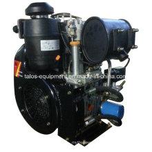 Motor a diesel refrigerado a ar de cilindro duplo 25 HP (292F)