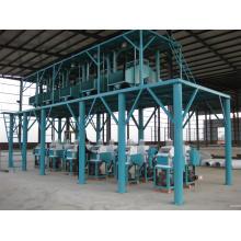 Máquina de moagem de farinha de conjunto inteiro (6FTF-8), moagem automática de farinha de trigo