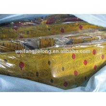 La cera africana del proveedor de China viste la tela común de la tela con diseño popular africano