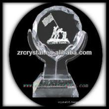 attractive design blank crystal trophy X023