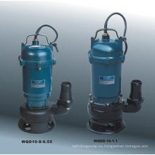 Bomba sumergible de aguas residuales (Serie WQD)