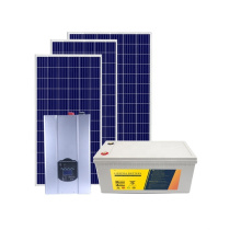 48V 200Ah 10kW  Power Wall Lithium Lipo LiFePO4 Battery System With Hybrid ON Off Grid Inverter Solar