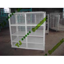 EU Standard Warehouse Storage Cage