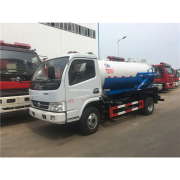 Small cleaning out and suction-type sewer sewage truck