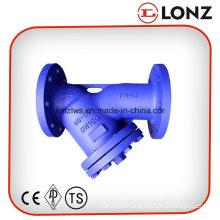 Pn40 DIN Cast Steel Flanged Y Type Strainer