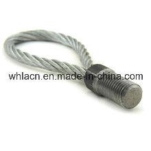Loops de levantamento de concreto pré-moldado com cabo de anel para peças de construção (2.5T)