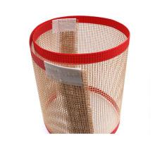 La máquina secadora UV utiliza una cinta transportadora de malla de PTFE