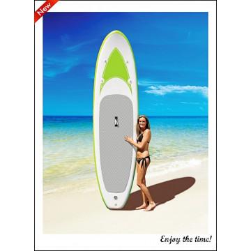 Prancha de surfe verde claro drop Stitch prancha inflável sup
