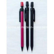 Mechanical Pencil with Soft Rubber Finished Barrel