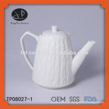 chinese embossed tea pot
