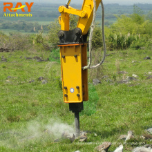 Mini Excavator Accessories Demolition Concrete Breaker for Backhoe
