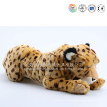 Plush soft toy tiger pillow