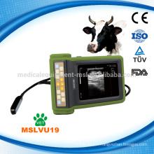 2016 La dernière marque MSLVU19i scanner à ultrasons avec ordinateur portatif à la main avec bonnes images adaptées à la ferme