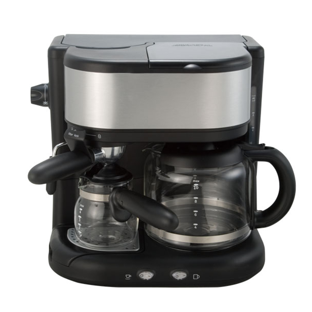 Italian espresso drip coffee maker 2 IN 1