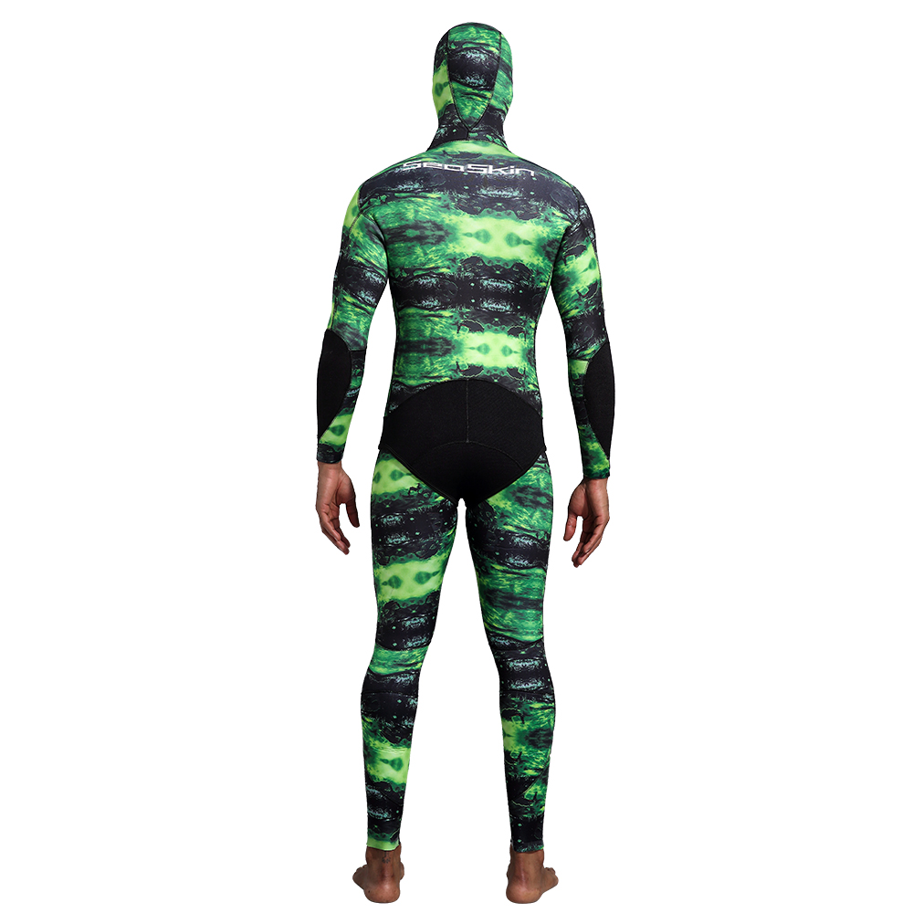 Two Pieces Camo Spearfishing Wetsuit