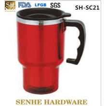 14oz Plastic Long Drink Cups with Handle (SH-SC21)
