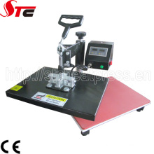 Machine de pressage à chaud de tapis de souris de secousse d'échantillon