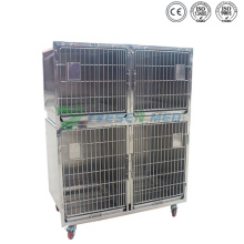 Ysvet1220 Medical Veterinary 304 Cages à chien en acier inoxydable