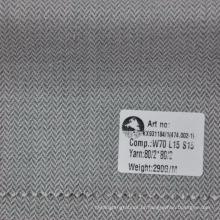 novo estilo de lã de linho de seda dos homens tecido jacketing