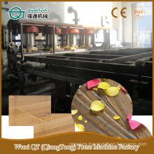 hydraulic floor panel short cycle hot press line
