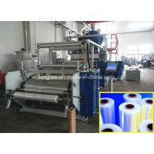 Ligne en plastique d'extrusion de film de bout droit de PE / LLDPE / LDPE / chaîne de production en plastique d'enveloppe
