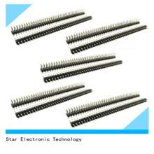 PA66 10 STÜCKE 2X40 Pin 2,54mm Pitch Zweireihig PCB Pin Header