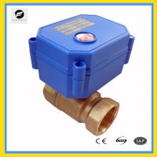 2 способ латунь воды запорный клапан электрического управления привод 230В