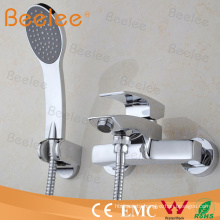 in Wall Mounted Single Lever Bath Shower Faucet with Hose and Handset