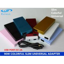 YH-8008 90W Adaptador Slim colorido Adaptador AC Adaptador para laptop