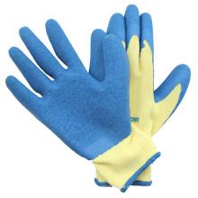 Luvas de algodão de palma revestidas com látex