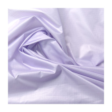 Hot Sell 400T 0.25 R/S Recycle Taffeta Spandex Lifestyle Fabric for Garment Tricot Woven Plain Roll Packaging Printed