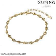 74751 pulsera de estilo simple moda unisex joyería de gama alta pulsera de cadena de precio barata fábrica al por mayor