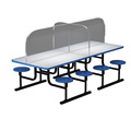 PORTABLE DIVIDER WALL | SNEEZE GUARD TABLE DIVIDERS
