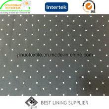 100% Polyester Men′s Jacket 260t Twill Print Lining