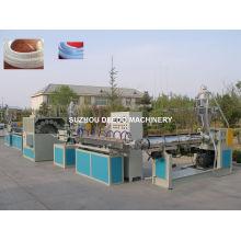 Machine de ligne d'extrusion de tuyau renforcée par fibre de PVC