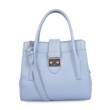 Medium Square Bag Tragbare Umhängetasche Blau