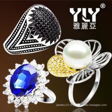 Bijoux Fashion Jewelry / CZ Ring 925 Silver