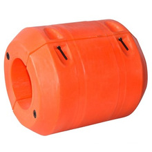 Flotadores de tubería de plástico de polietileno