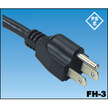 Los cables de alimentación de CA de Japón