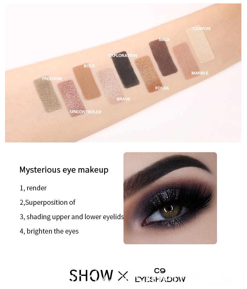 C9 Eye Shadow style 12